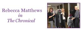 Rebecca Matthews in The Chronical